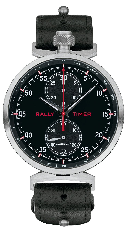 萬寶龍TimeWalker系列拉力賽計時碼表,限量100只,114萬2,600元...