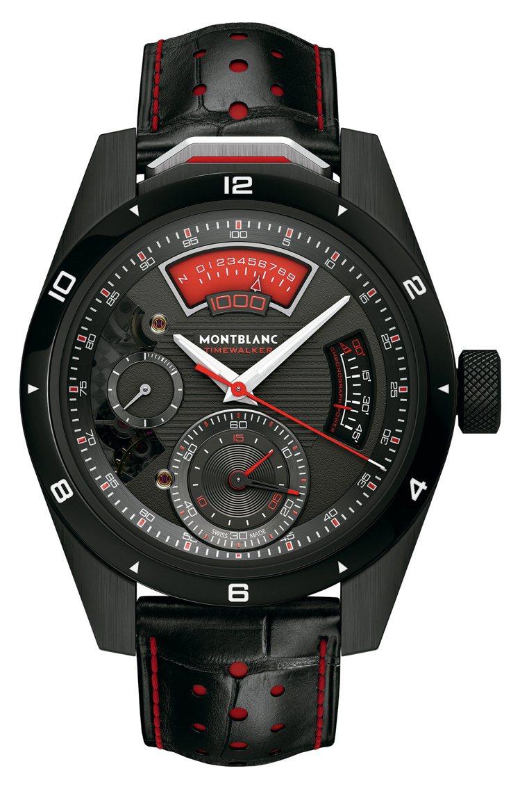 萬寶龍TimeWalker系列1000計時腕表,限量18只,540萬4,000元...