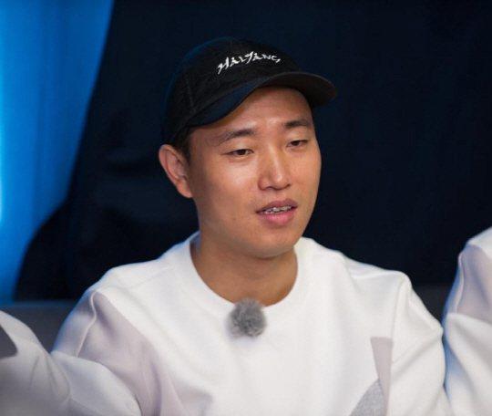 Gary瞞著RM成員秘密回歸,讓成員們大吃一驚。圖/摘自運動朝鮮