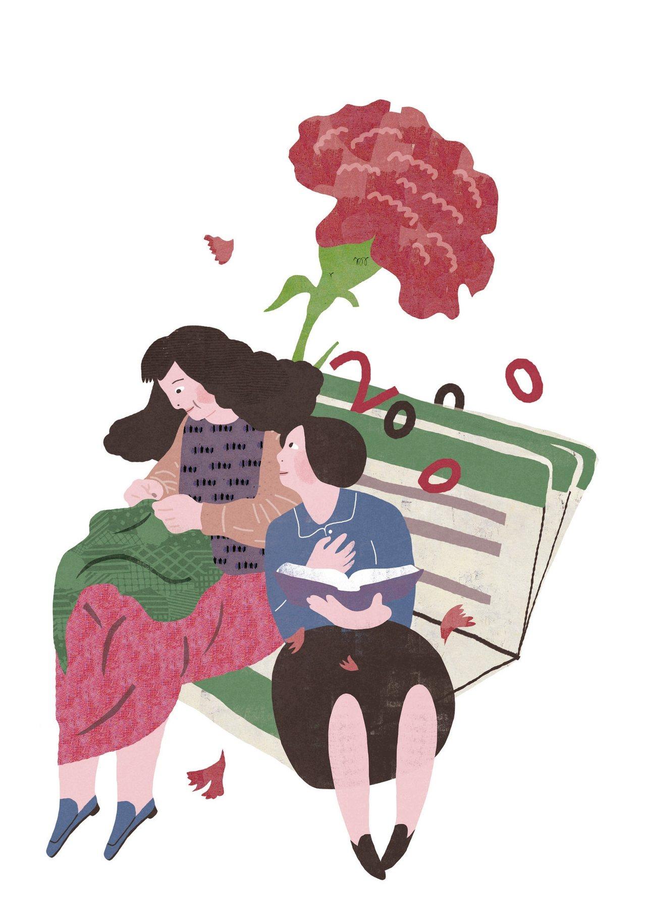 懷念母親那本奇妙的存摺 圖/陳佳蕙