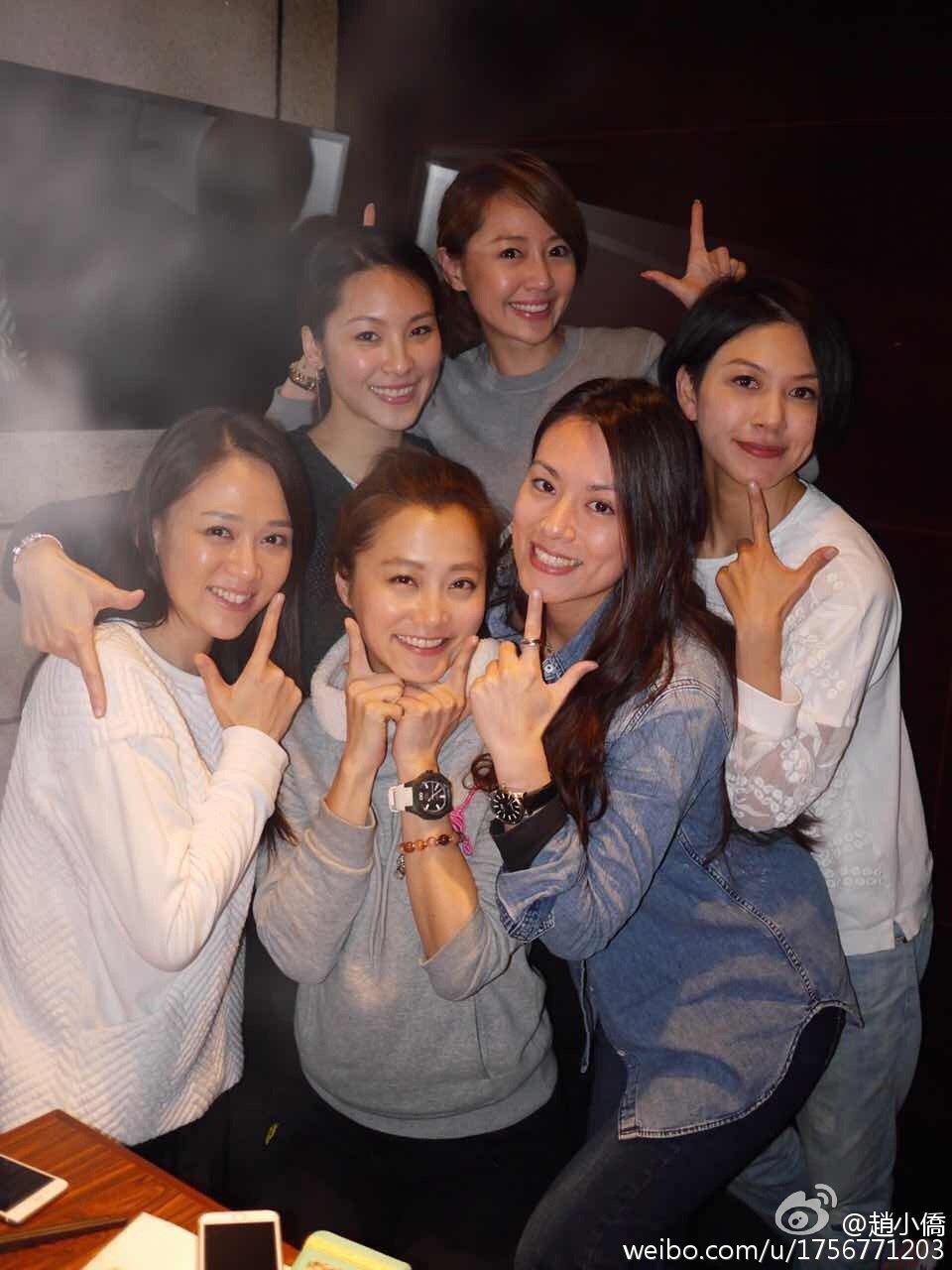 七朵?2015年也曾合体。 图/撷自赵小侨微博。