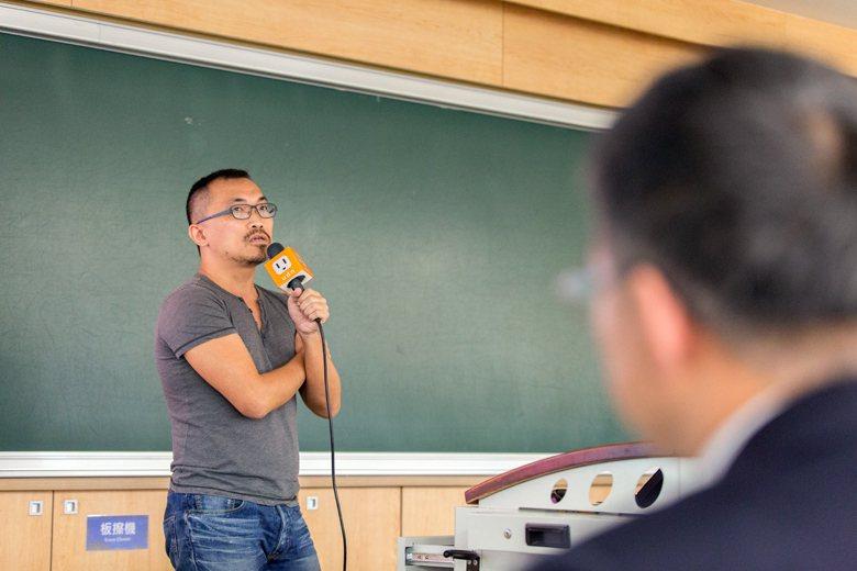 中山大學生物科學系副教授顏聖紘。 圖/挺挺網絡提供