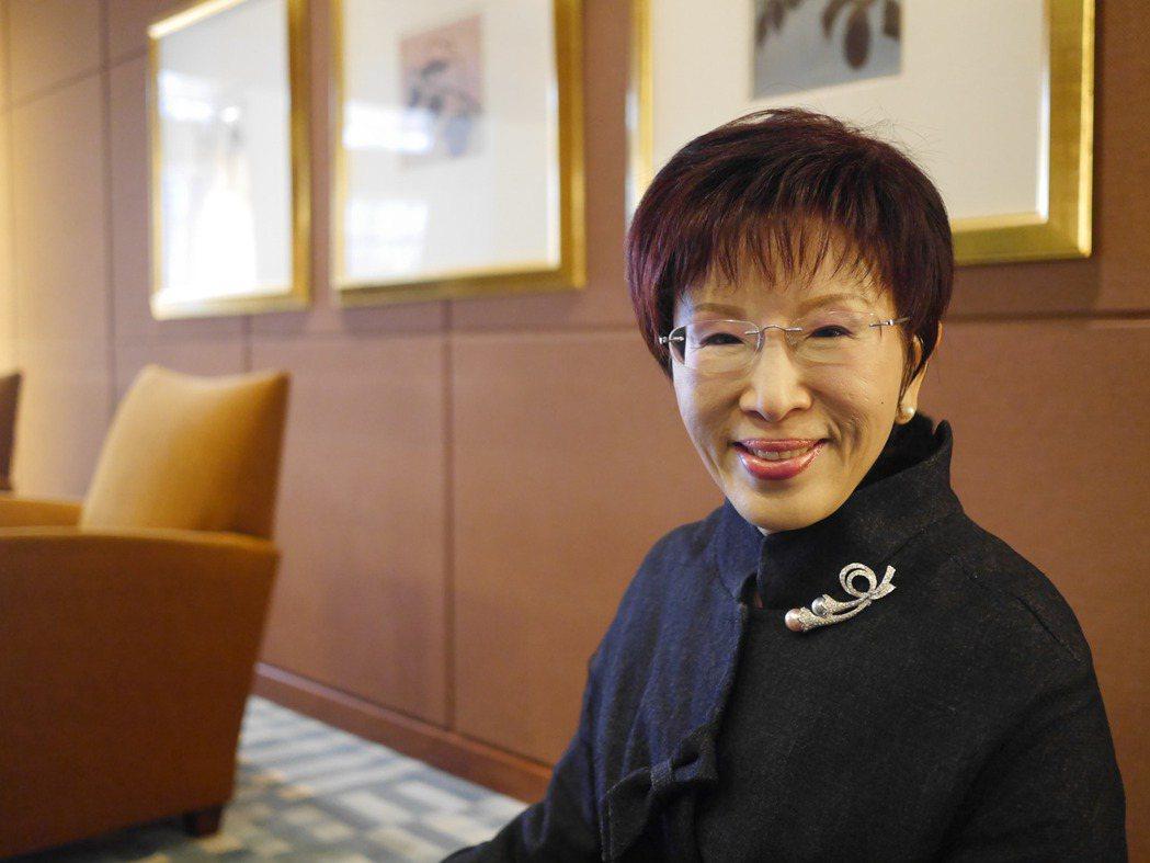 中国国民党主席洪秀柱。图/联合报系资料照