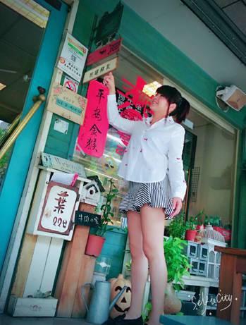 苏小姐如今又可穿上喜爱的短绔?裙子。图/苏小姐提供