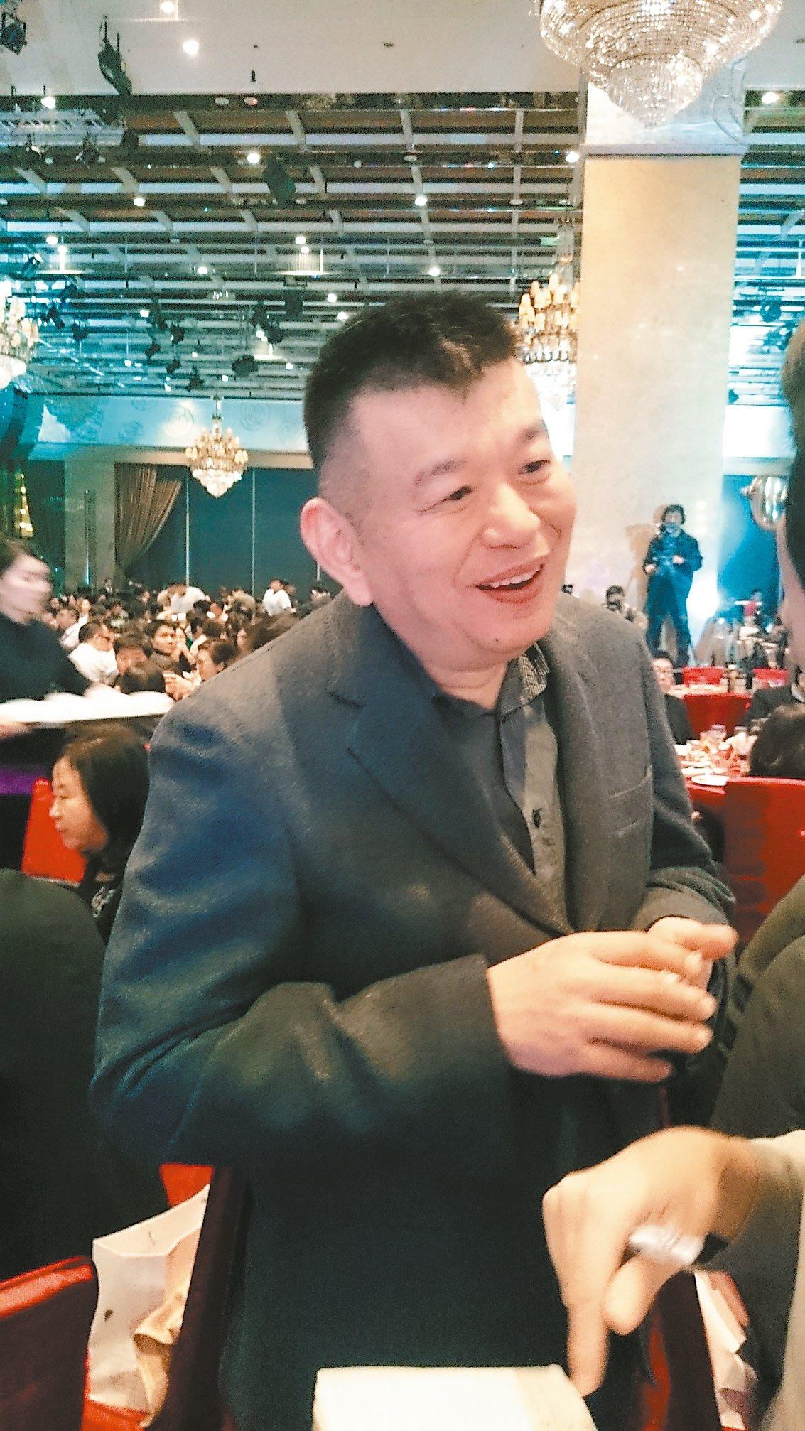 興富發集團總裁鄭欽天。 記者陳美玲/攝影