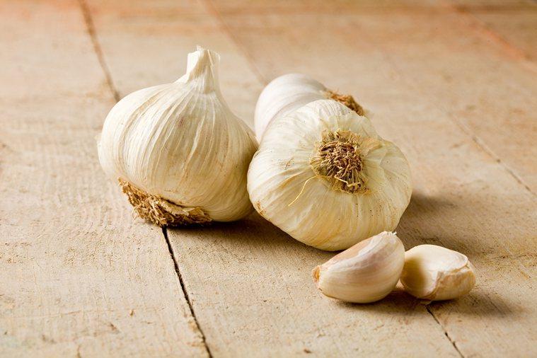 大蒜:含活性成分大蒜素,可抵抗感染和細菌。 圖/ingimage
