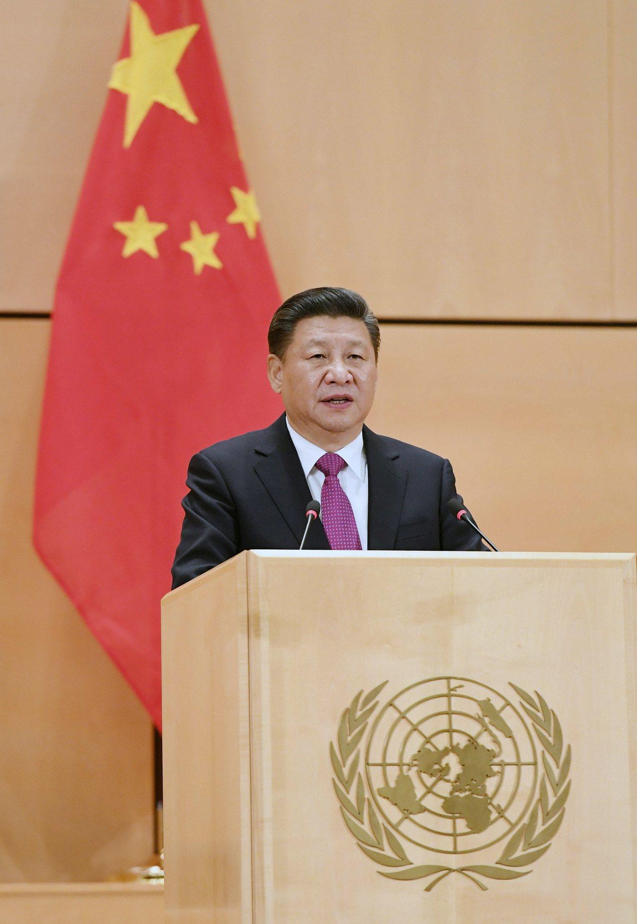 中國大陸國家主席習近平18日在聯合國日內瓦總部發表演講,闡述人類命運共同體理念,...