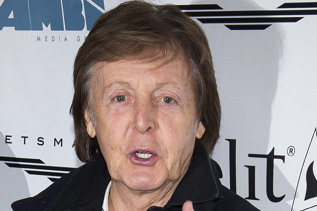前披頭四成員保羅麥卡尼(Paul McCartney)。 美聯社
