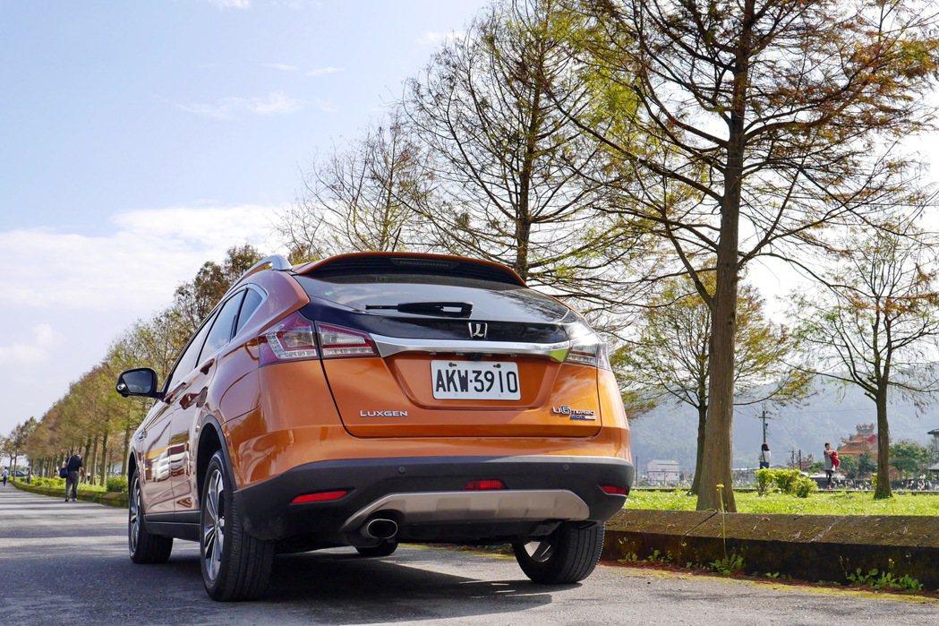 U6是Luxgen旗下的主力銷售車款。 記者陳威任/攝影