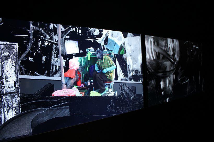 陳依純〈你夢見電子羊了嗎?〉。圖/非池中藝術網攝。