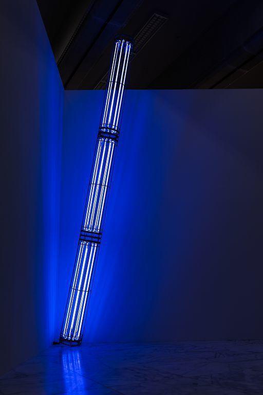 劉致宏〈藍色的刺痛的愛〉。圖/臺北市立美術館提供。