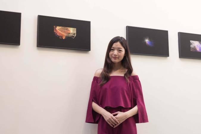 旅美藝術家江孟芝。圖/非池中藝術網攝。