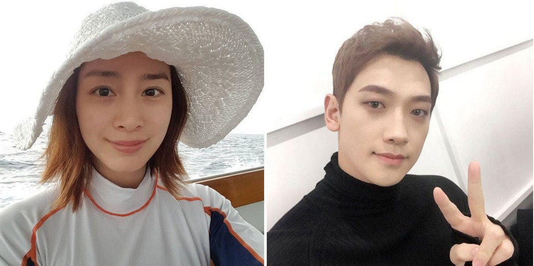 Rain(右)與金泰希今日完婚,婚禮低調進行,外界猜測可能因近日南韓政壇不穩有關