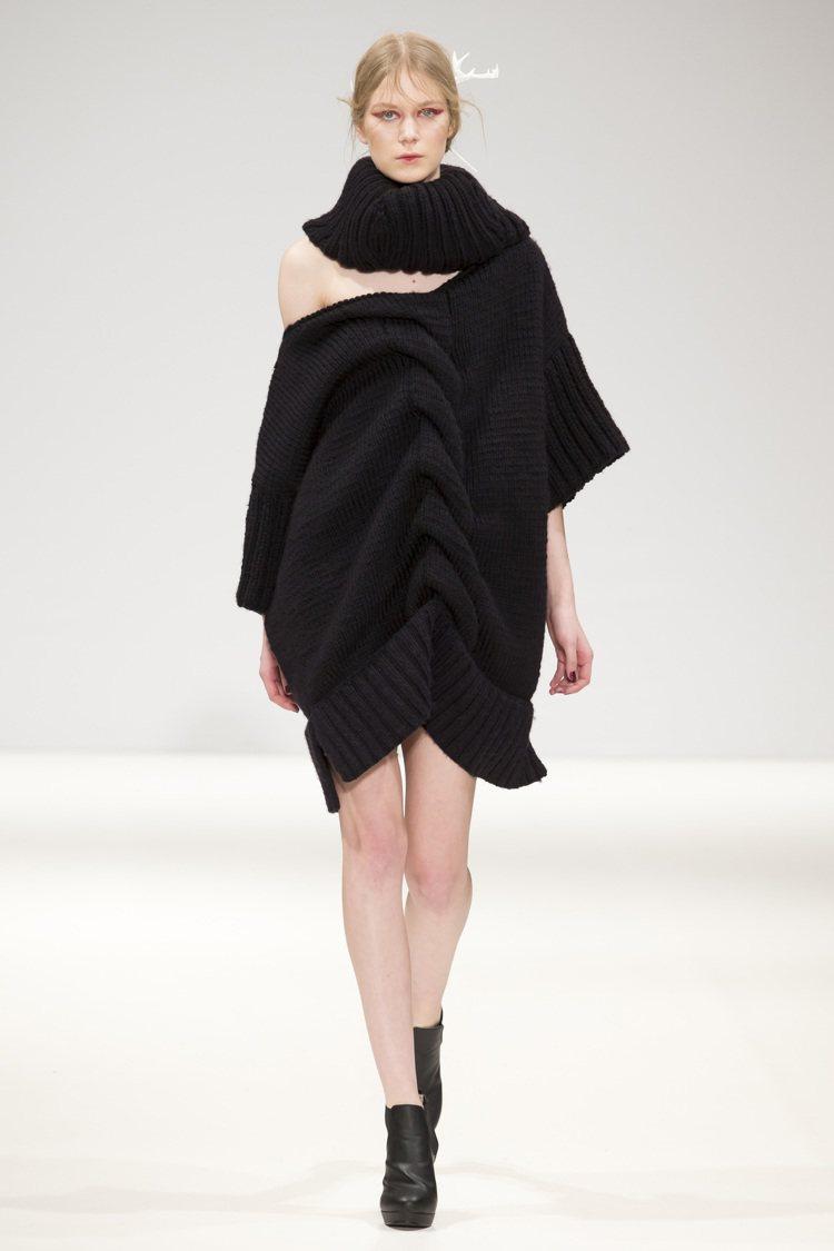 詹朴的服裝作品即將在法國加萊蕾絲暨時尚博物館展出。圖/詹朴提供