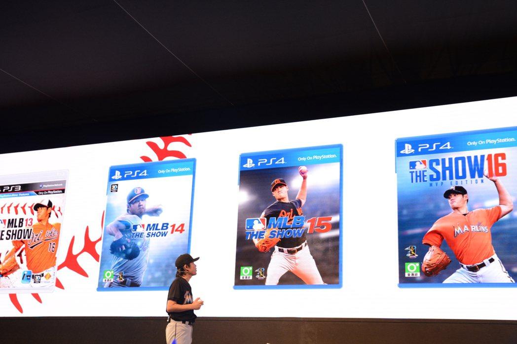 旅美投手陳偉殷連五年擔任電玩遊戲「MLB The Show」台灣版封面人物。 記...