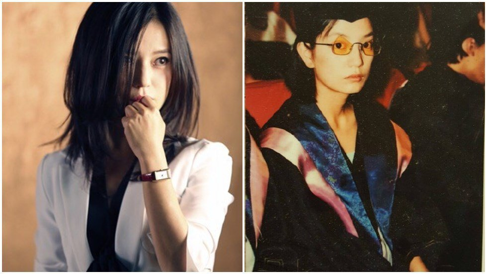 趙薇在深夜秀出18年前舊照勉勵自己。圖/取自於微博