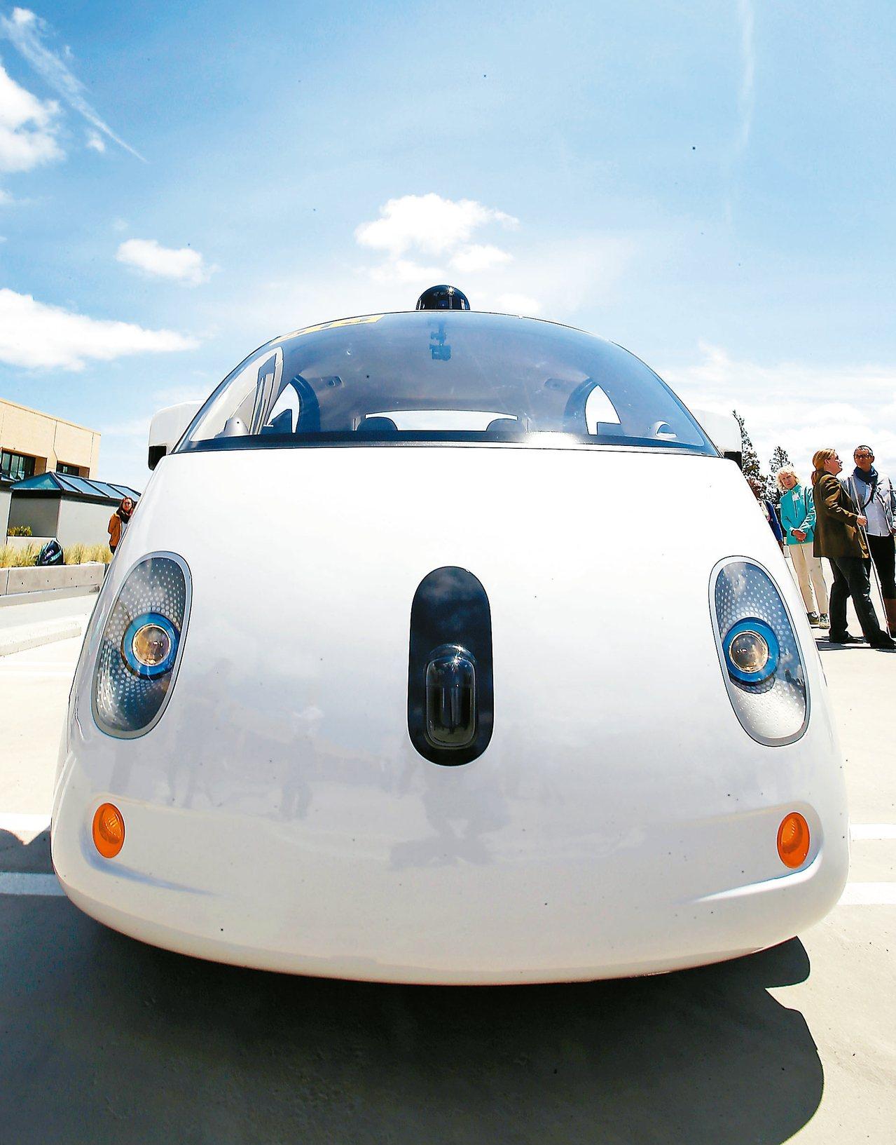 LED產業今年持續找機會,台廠轉進利基與特殊市場,也搶攻自駕車市場應用。圖為Go...