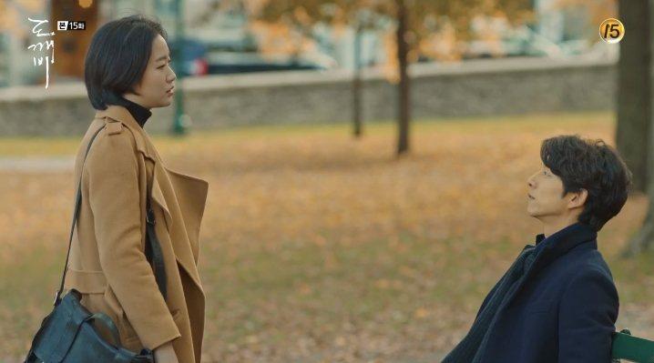 在加拿大相遇的恩倬與鬼怪尋回2人的姻緣。圖/摘自tvN