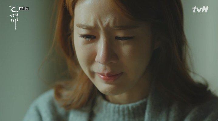 劉寅娜因不得已的原因假裝失意,只能默默流淚。圖/摘自tvN