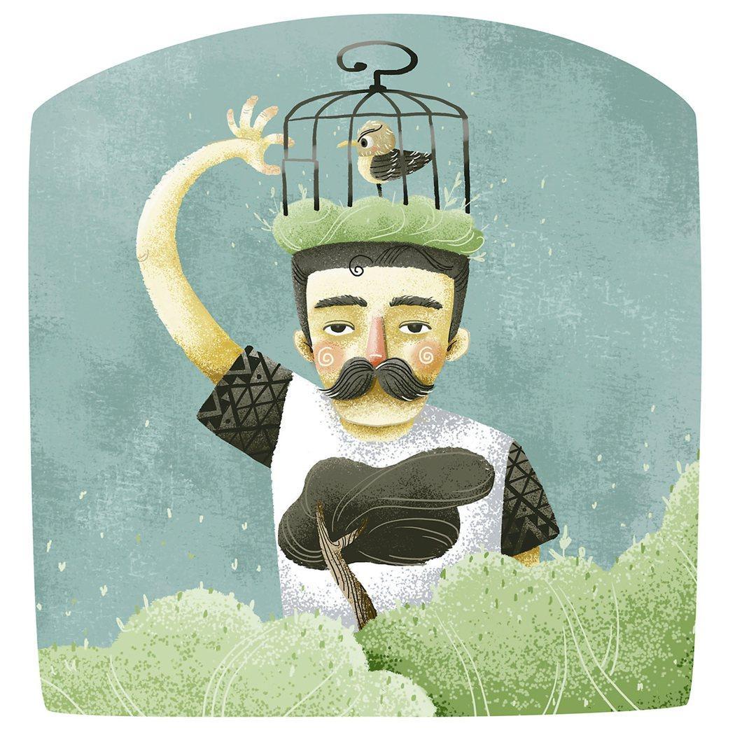 如果說,讓心自由跟打開鳥籠一樣容易該有多好 圖/阿水