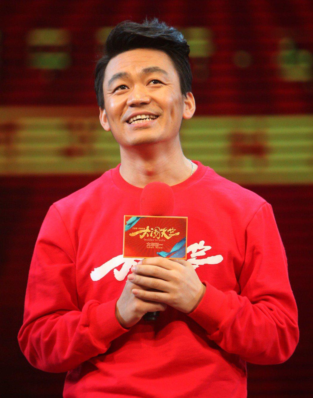 王寶強自導自演的電影《大鬧天竺》,成為中國大陸春節檔電影票房熱賣的主力之一。(中...