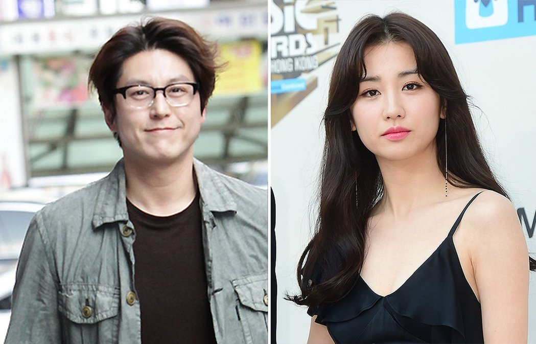 柳秀榮(左)和朴河宣(右)今舉辦婚禮。 取材自微博