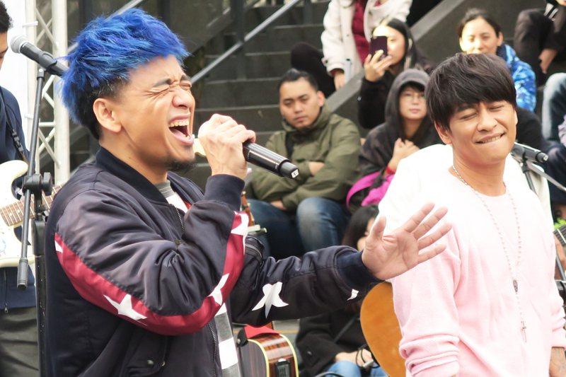 Boxing第二張專輯《不簡單》新歌演唱會22日在華山舉辦。(photo by