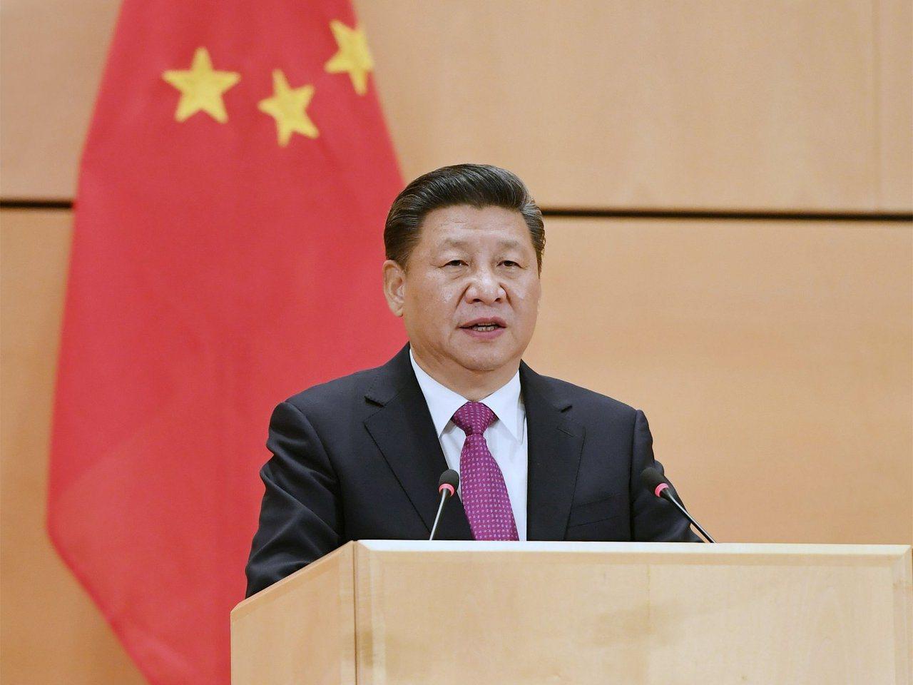 中國大陸國家主席習近平(圖)今(26日)晚間出席春節團拜會時表示,「全黨全軍全國...