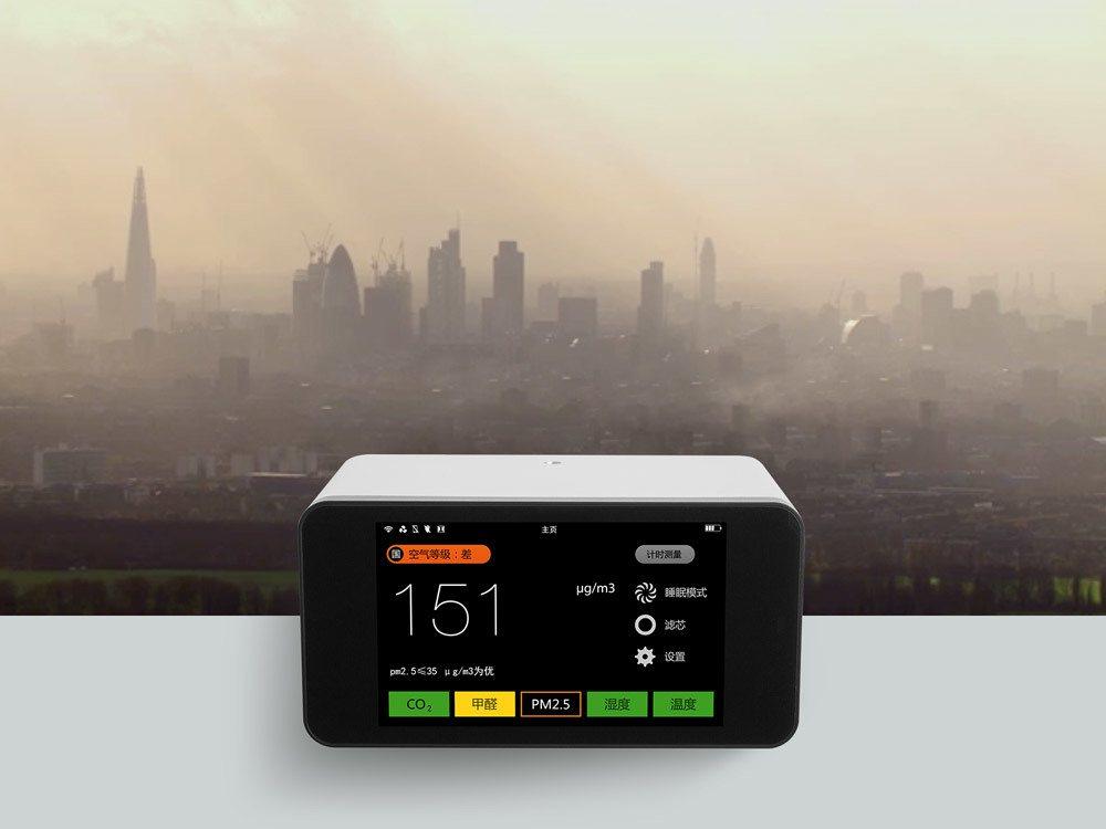 LA352偵測器採獨立設計,可放在室內任何角落。 業者/提供
