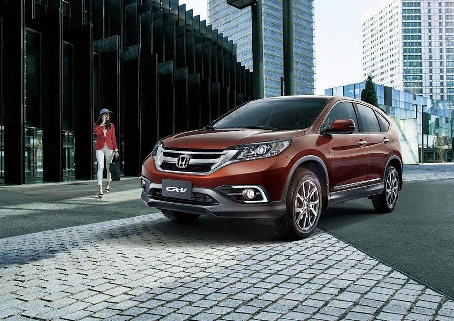 Honda CR-V。 Honda提供