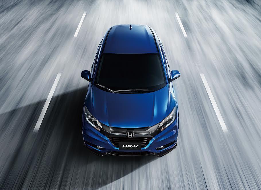 Honda HR-V。 Honda提供