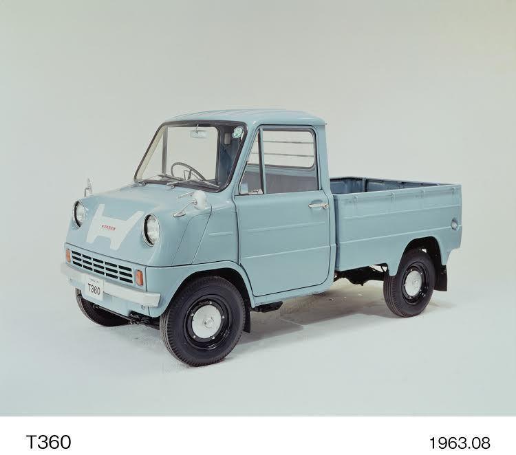 T360迷你卡車。 Honda提供