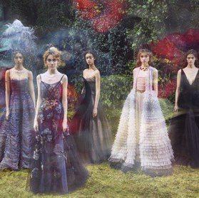 春夏訂製服/夢幻搖擺 Dior打造花園仙女