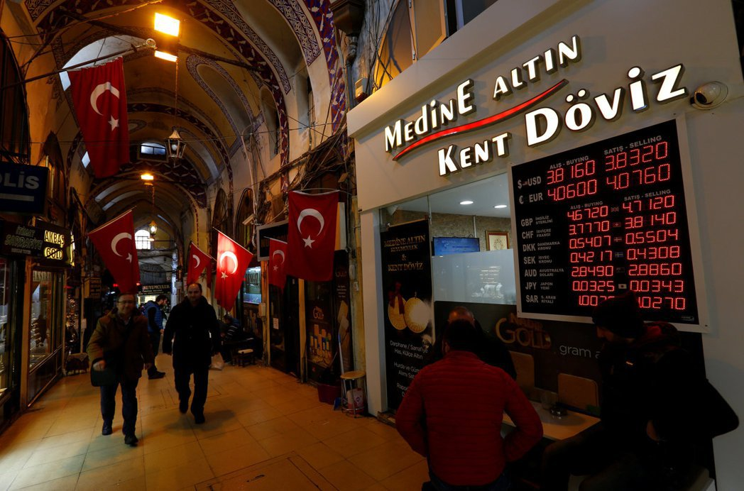 土耳其央行調升利率…匯市不買帳 土幣里拉跳空重貶01-24 19:21145