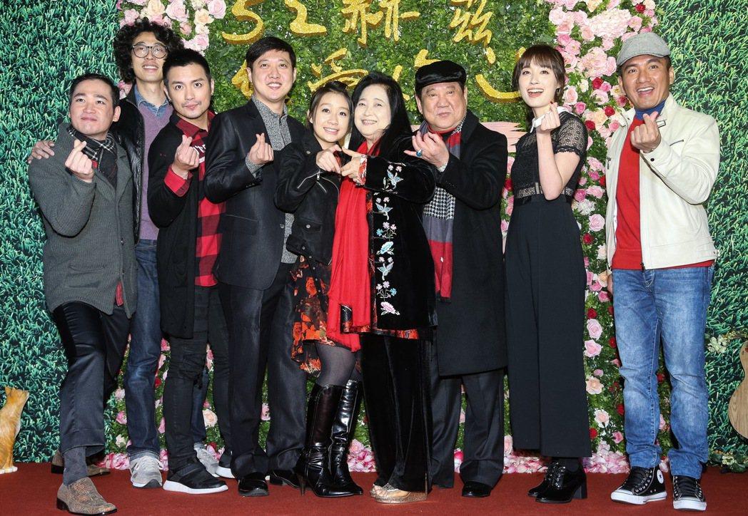 魏德聖執導的新電影「52 Hz I love you」在台北信義威秀影城舉辦首映...