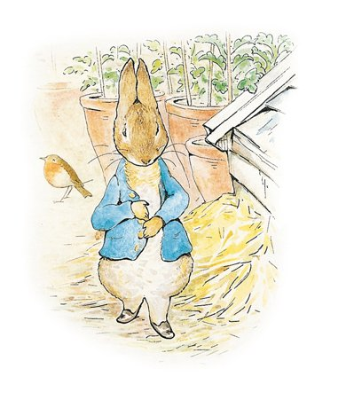 《走入小兔彼得的世界:波特經典童話故事全集》內頁。 圖/青林國際出版提供