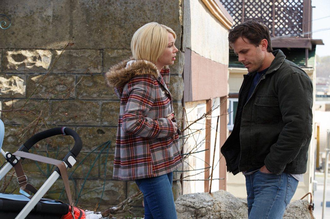 「海邊的曼徹斯特」男主角凱西艾佛列克(右),拿下小金人呼聲極高。圖/采昌國際多媒