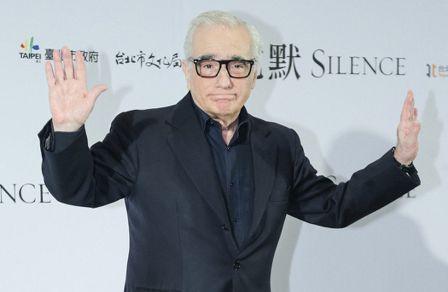 馬丁史柯西斯來台拍攝「沉默」。聯合報系資料照片