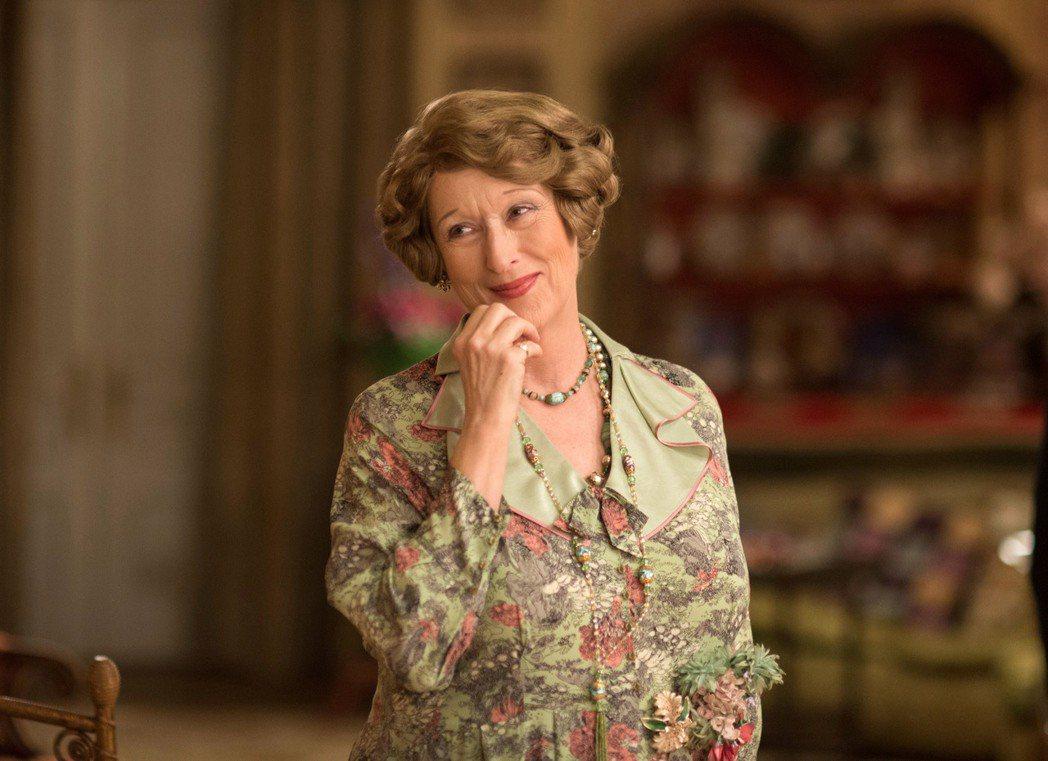 梅莉史翠以「走音天后」入圍奧斯卡最佳女主角獎。 圖/美聯社