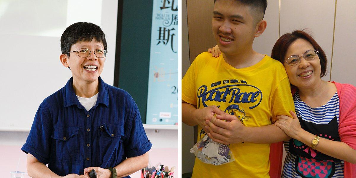 左:2/11(六)作家張友漁演講:「閱讀,從貓頭鷹的書房開始」。圖/李國盛提供...