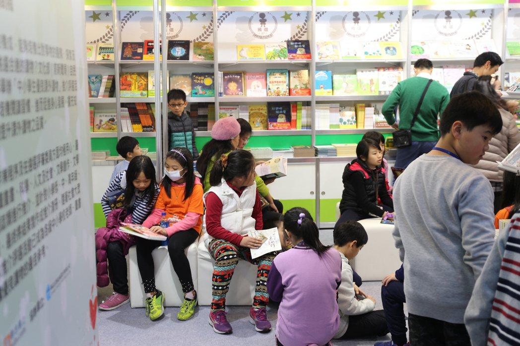 2016年主題館閱讀區。