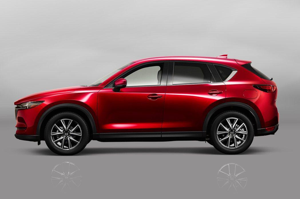Mazda CX-5。 圖/Mazda提供
