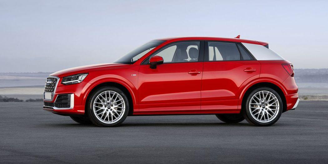 Audi Q2。 圖/Audi提供