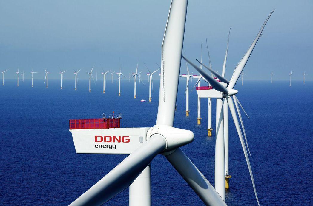 全球最大離岸風電開發商丹能風力,宣布將投資上緯投控旗下海洋風電35%股份。(圖:...