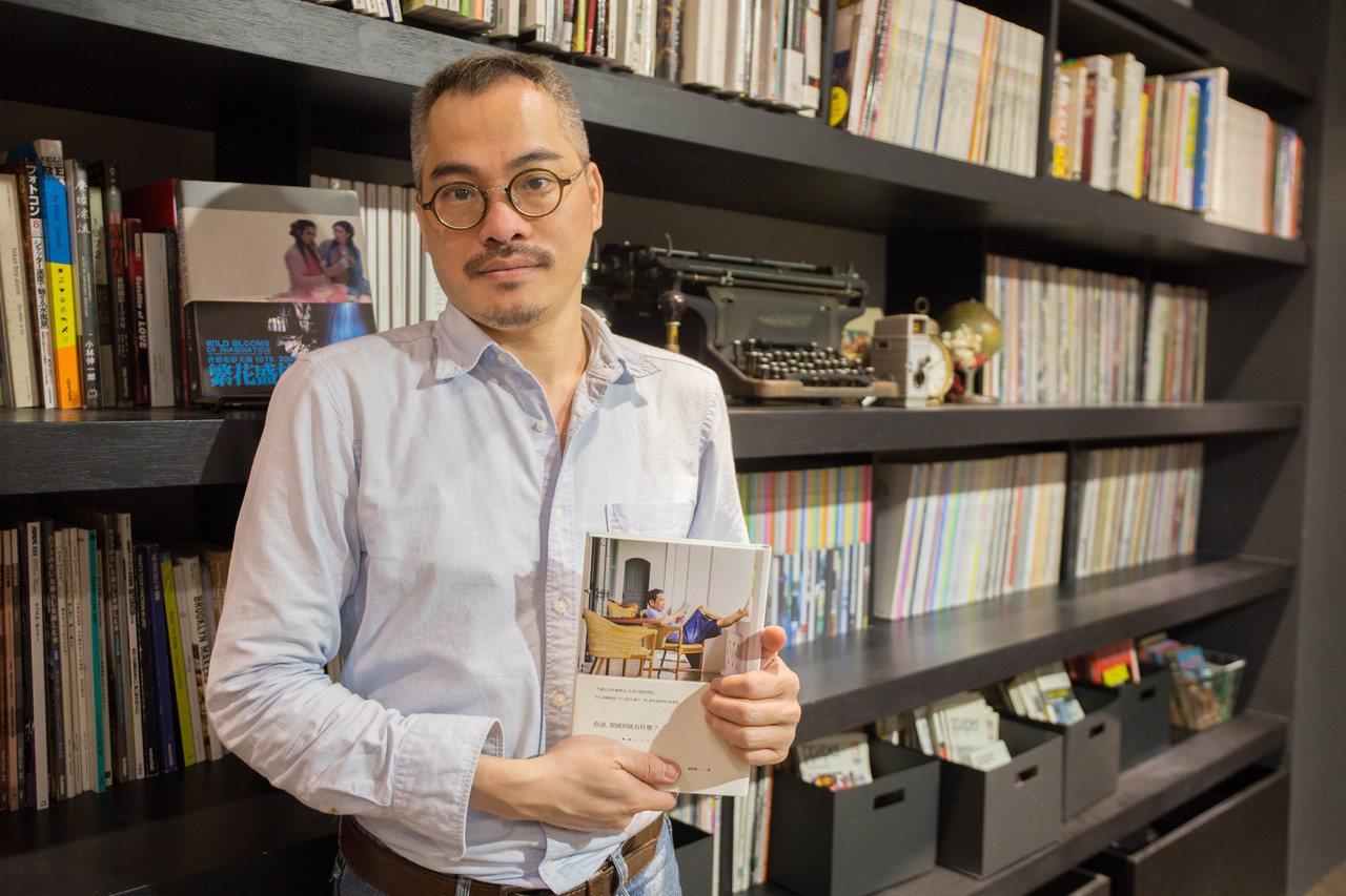 設計師蔡南昇。攝影/蔡宜家