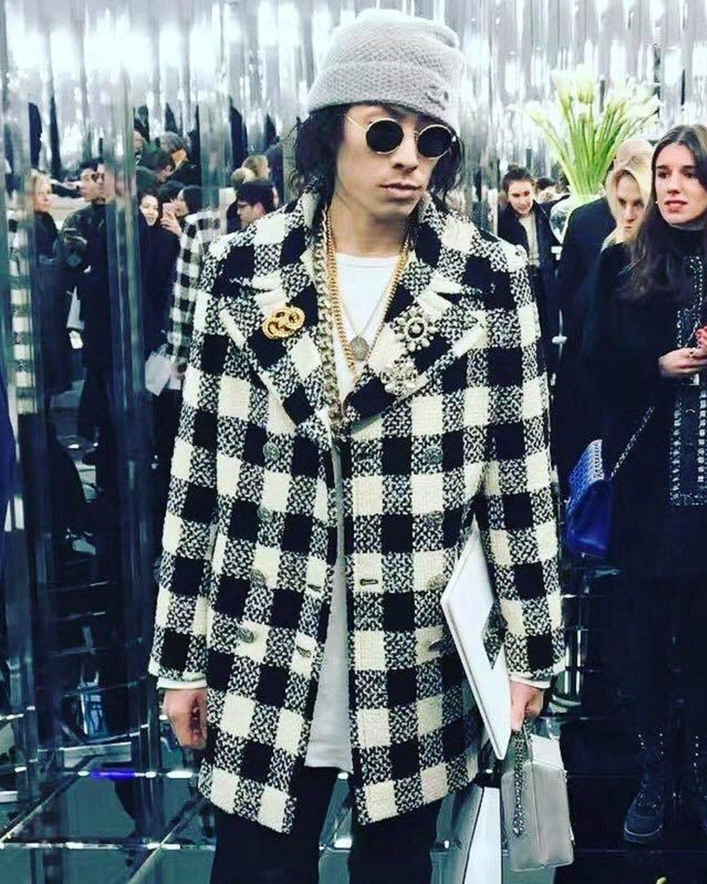Van Ness吳建豪日前受邀到巴黎看秀。 圖/環球音樂