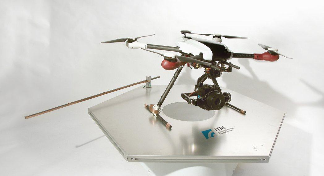 工研院開發的無人機。 工研院/提供
