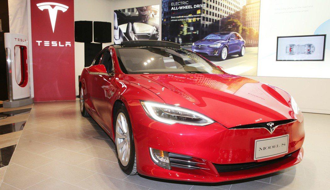 特斯拉Model S。 記者徐兆玄/攝影