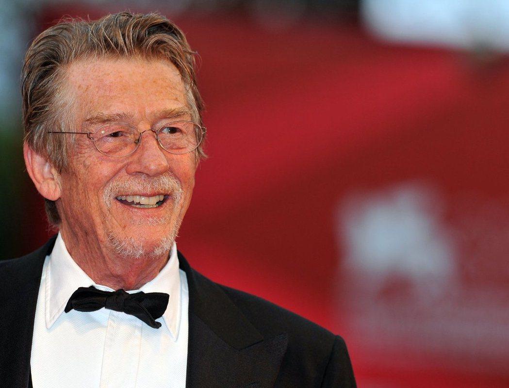 老牌英國影星約翰赫特(John Hurt)過世,享壽77歲。 圖擷自IMDB