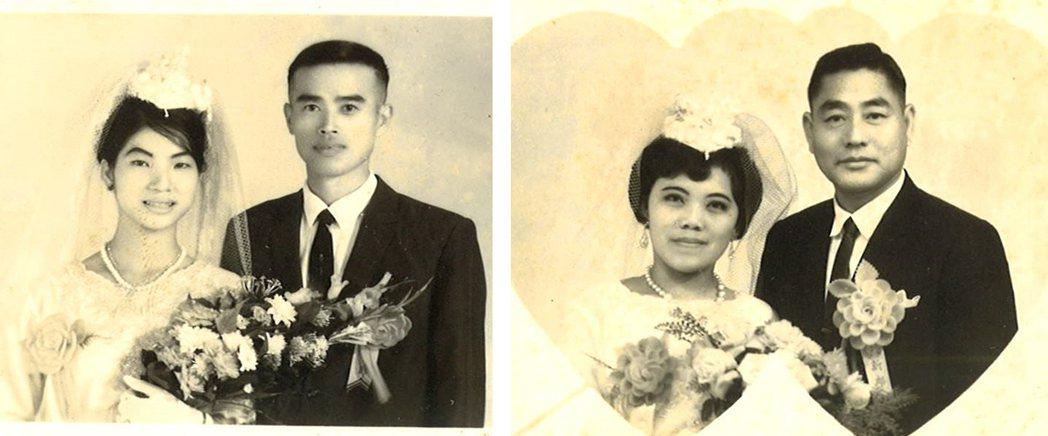 部分來臺軍人與本地女性結為連理,重新在這片土地上建立共同的家園。(圖/趙...